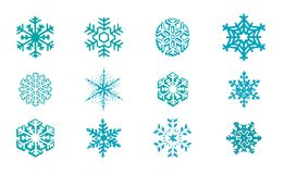 Snowflakes Vector Stock Photography