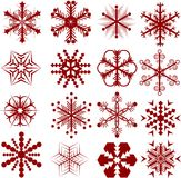 Snowflakes. [Vector]. stock photography