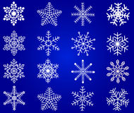 Snowflakes vector Stock Photo