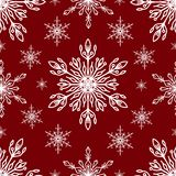 Snowflakes vector icons frozen frost star Christmas decoration snow winter flakes elemets Xmas holiday design Royalty Free Stock Photos