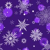 Snowflakes vector icons frozen frost star Christmas  Royalty Free Stock Images