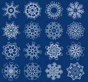 Snowflakes,vector illustration Stock Images