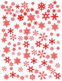 Snowflakes vector illustration Stock Image