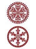 Snowflakes Vector Image Stock Photos