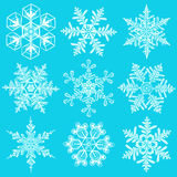 Snowflakes - vector set Stock Image
