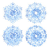 Snowflakes Vector Set Royalty Free Stock Photo