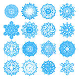 Snowflakes Vector Set Royalty Free Stock Image