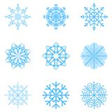 Snowflakes Vector Royalty Free Stock Image