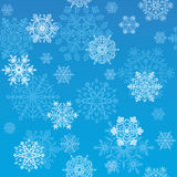 Snowflakes wallpaper Royalty Free Stock Images