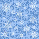 Snowflakes wallpaper Royalty Free Stock Image