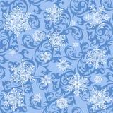 Snowflakes wallpaper Royalty Free Stock Image