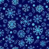 Snowflakes Watercolor Στοκ Εικόνες