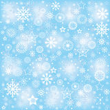 Snowflakes, winter background Stock Images