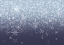 Snowflakes - winter background. Snowflakes - abstract winter background for your own creations Stock Images