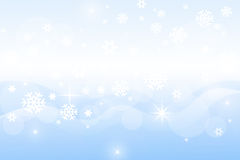 Snowflakes winter background Royalty Free Stock Image