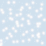 Snowflakes winter background. For your design Royalty Free Stock Photo