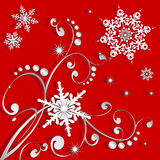 Snowflakes Winter or Christmas Royalty Free Stock Photo