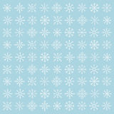 Snowflakes. Winter vector background. Christmas pattern Stock Photos