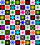 Snowflakes  xmas day 02 Royalty Free Stock Images