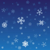 Snowflakes1 Royalty Free Stock Image