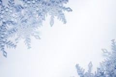 Snowflakesbakgrund Royaltyfri Fotografi