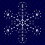 snowflakesnowflakes Royaltyfri Illustrationer