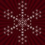 snowflakesnowflakes Stock Illustrationer