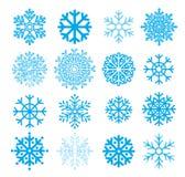 snowflakesvektor Fotografering för Bildbyråer