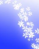 Snowflingor stock illustrationer