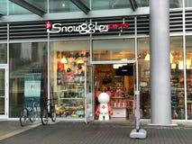 Snowggle prezenty, Vancouver, BC obraz royalty free