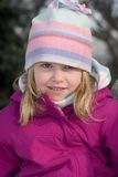 Snowgirl Royalty Free Stock Images