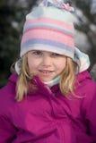 Snowgirl Imágenes de archivo libres de regalías