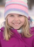 Snowgirl Image stock