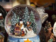 Snowglobe Royalty-vrije Stock Afbeelding