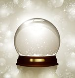 Snowglobe stock photography