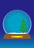 SnowGlobe ilustración del vector