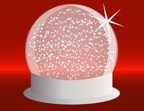 Free Snowglobe On A Silver Base Royalty Free Stock Photos - 16980618