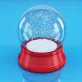 Snowglobe vacío Imagenes de archivo