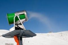 snowgun εργαζόμενος Στοκ Εικόνες