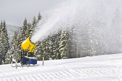 Snowgun Royalty Free Stock Images