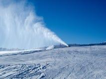 Snowgun fotografering för bildbyråer