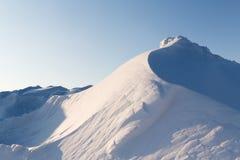 Snowhög Fotografering för Bildbyråer