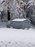 Snowie vinter royaltyfri fotografi