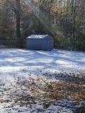 Snowie vinter royaltyfri foto