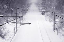 snowing Arkivfoton