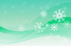 Snowing Royalty Free Stock Image