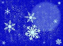 snowing ilustración del vector