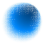 Snowing background Stock Image
