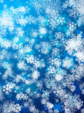 Snowing background Royalty Free Stock Images