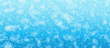 Snowing banner Royalty Free Stock Images